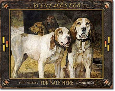 Tin Sign, Winchester - For Sale Here