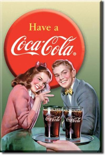 Magnet, COKE - Young Couple