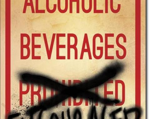 Tin Sign, Alcoholic Beverages