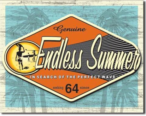 Tin Sign, Endless Summer - Genuine