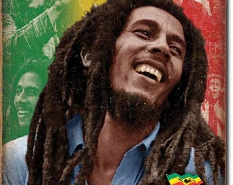 Tin Sign, Bob Marley - Mosaic