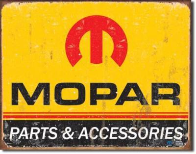 Tin Sign, Mopar Logo '64 - '71