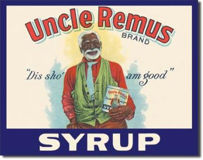 Tin Sign, Uncle Remus Syrup