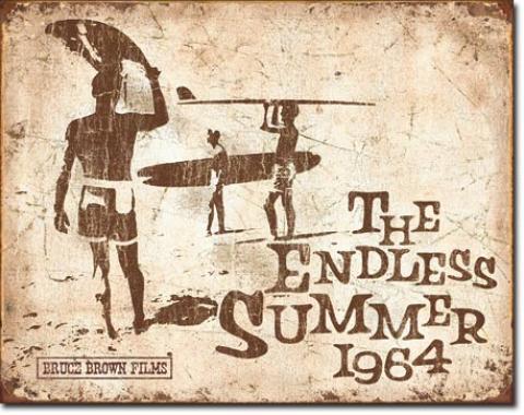 Tin Sign, Endless Summer Retro