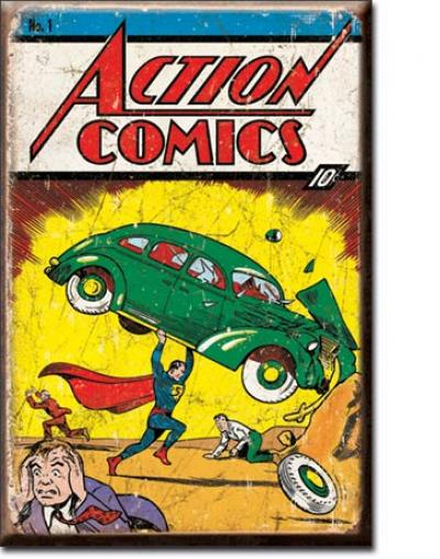 Magnet, Action Comic No1 Cover