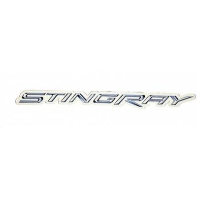 "Corvette Metal Sign, C7 Stingray Script 50"" X 4"""