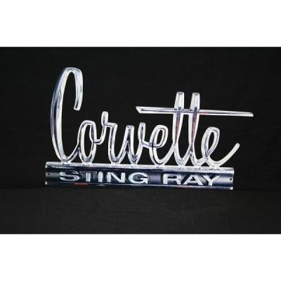 Corvette Metal Sign, Stingray, 1966-1967
