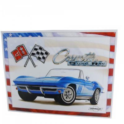 Corvette 1965 Stingray Tin Sign
