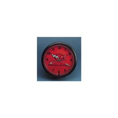 Corvette C5 Wall Clock, Neon