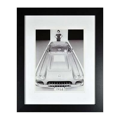 Corvette C1 Historical Framed Wall Print