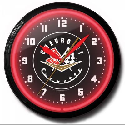 Corvette Banded Neon Clock