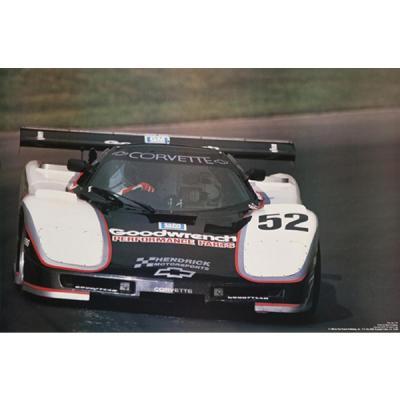 Corvette GTP V - 1986 Reprint Poster