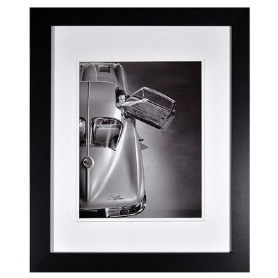 Corvette Split Window Stingray Historical Framed Wall Print