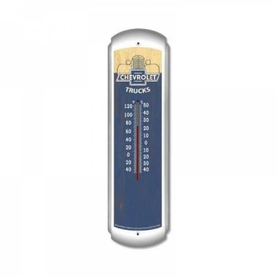 Chevy Truck Vintage Style Thermometer, ''Chevrolet Trucks'', 30''
