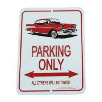 1957 Hardtop Parking Only Sign