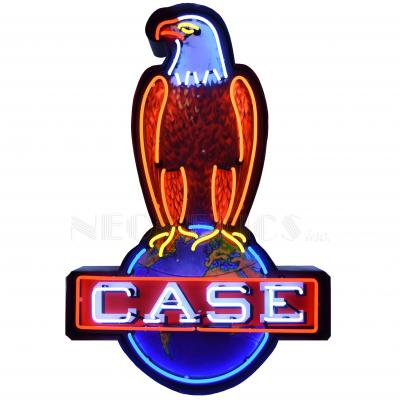 Neonetics Big Neon Signs in Steel Cans, Case Eagle Neon Sign in Shaped Steel Can