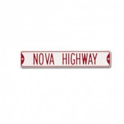 Nova Sign, Metal, Nova Highway