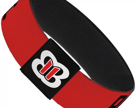 "Elastic Bracelet - 1.0"" - Brie Bella BRIE MODE Red/Black"