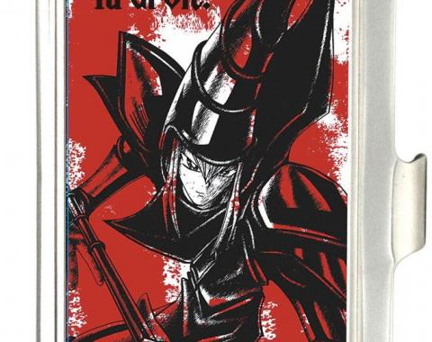 Business Card Holder - SMALL - YU-GI-OH! Dark Magician Pose FCG White/Red/Black
