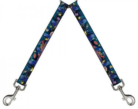 Dog Leash Splitter - Dory Poses & Friends Under the Sea
