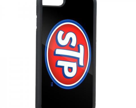 Rubber Cell Phone Case - BLACK - STP Logo FCG Black/Blue/White/Red