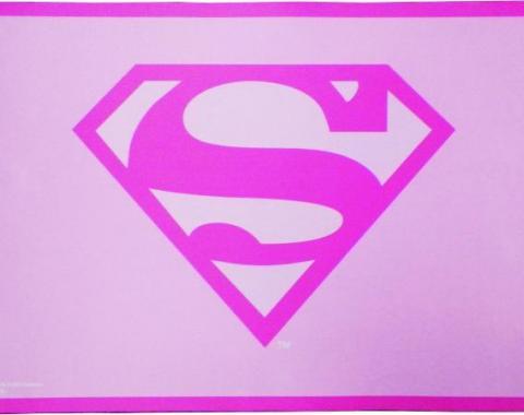 Placemat - Superman Pink