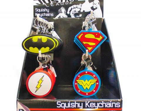 Squishy Keychains with Product Display