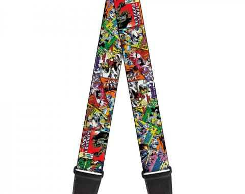 Guitar Strap - Transformers Comics Stacked