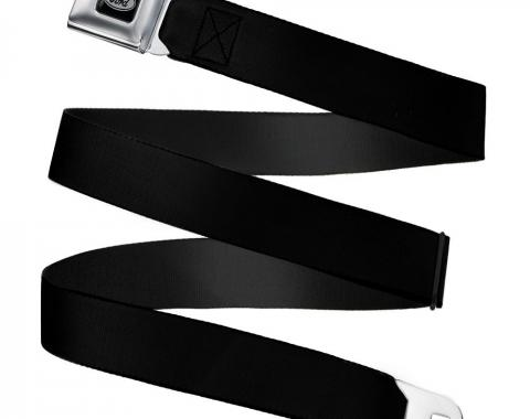 Ford Emblem -   Seatbelt Belt - Black Webbing