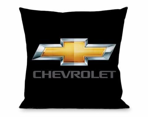 Throw Pillow - Chevrolet Logo