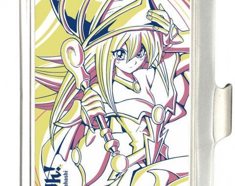 Business Card Holder - SMALL - YU-GI-OH! Dark Magician Girl Pose FCG White/Yellow/Pink