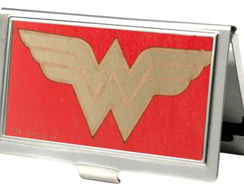 Business Card Holder - SMALL - Wonder Woman GW Red/Gold