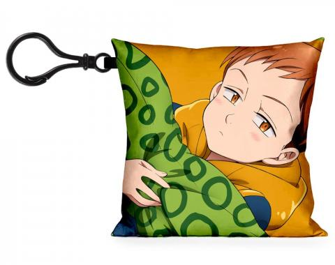 Pillow Keychain - THE SEVEN DEADLY SINS + King Pose Greens