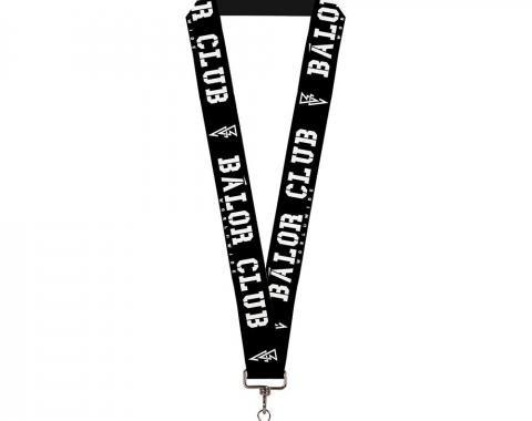 "Lanyard - 1.0"" - Finn Balor BALOR CLUB WORLDWIDE/BC Icon Black/White"