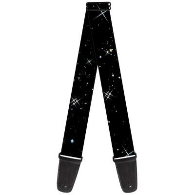 Guitar Strap - Deep Space Black/White
