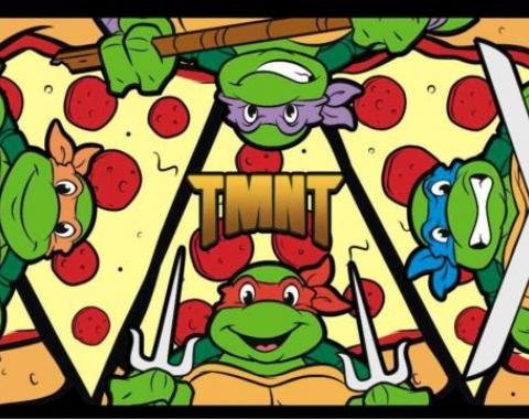 Placemat - TMNT Turtle Battle Poses/Pizza