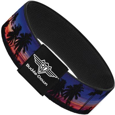 Buckle-Down Elastic Bracelet - California Sunset