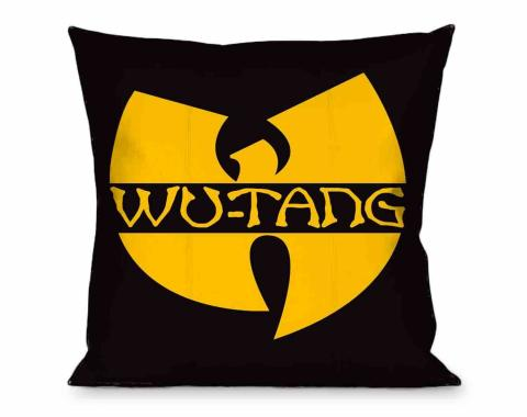 Throw Pillow - Wu-Tang Clan Logo