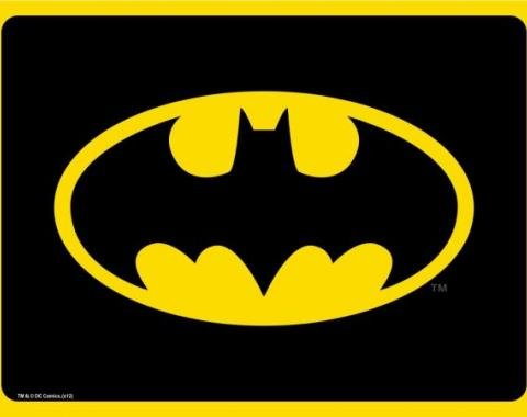 Placemat - Batman Black/Yellow