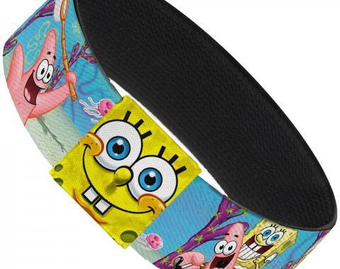 "Elastic Bracelet - 1.0"" - SpongeBob & Patrick Starfish Jellyfishing Scenes"