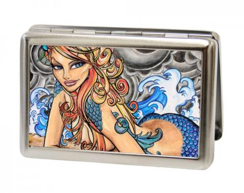 Business Card Holder - LARGE - Earth Wind Flower Water FCG