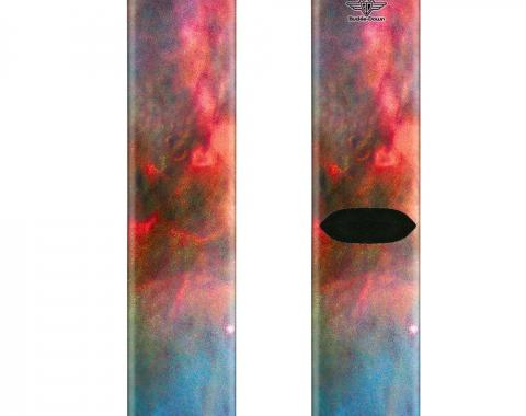 Sock Pair - Polyester - Supernova Space Collage - CREW
