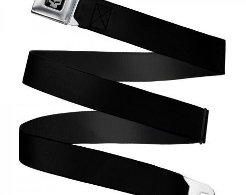 C6R Jake Skull Seatbelt Belt - Black Webbing