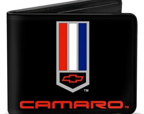Bi-Fold Wallet - Camaro Badge Logo CENTERED