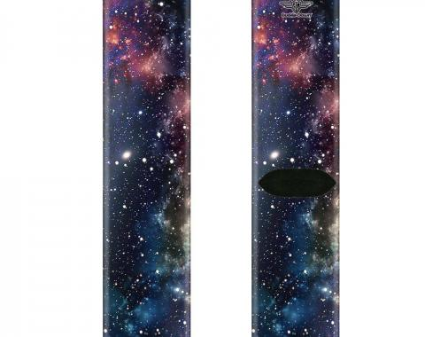 Sock Pair - Polyester - Space Dust Collage - CREW