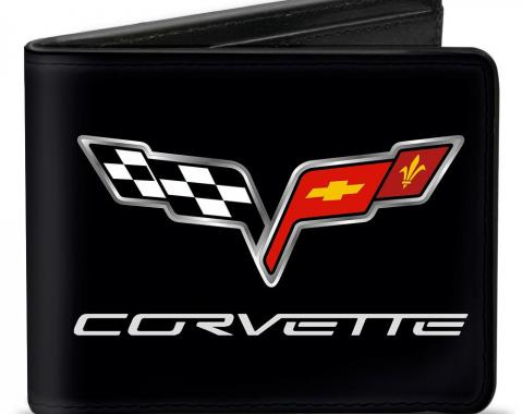 Bi-Fold Wallet - C6 Logo CENTERED