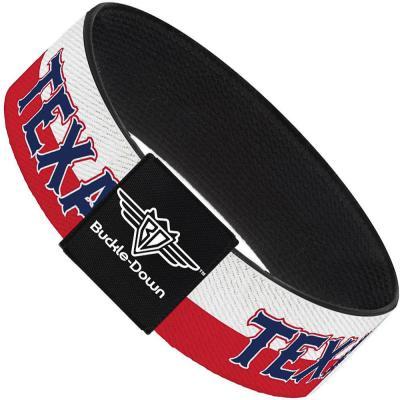 Buckle-Down Elastic Bracelet - Texas Flag/TEXAS