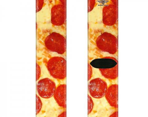 Sock Pair - Polyester - Pepperoni Pizza Vivid - CREW
