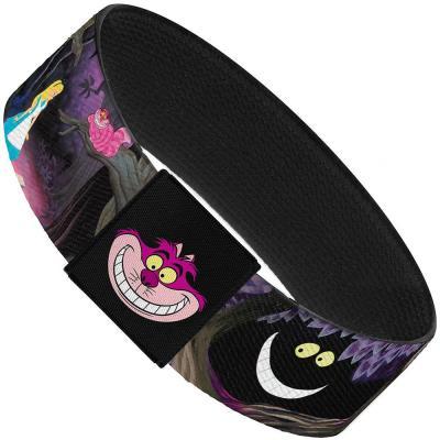 "Elastic Bracelet - 1.0"" - Alice & the Cheshire Cat Scenes"