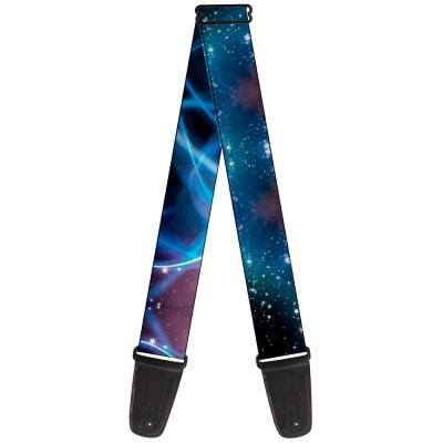 Guitar Strap - Galaxy Swirl/Shining Stars